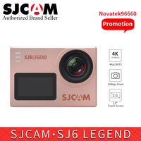 SJCAM SJ6 Легенда 4 к wifi экшн Спорт DV камера водостойкий NTK96660 2,0 сенсорный экран Спорт видео DVR VS sj SJ8 pro yi 4 к CAM