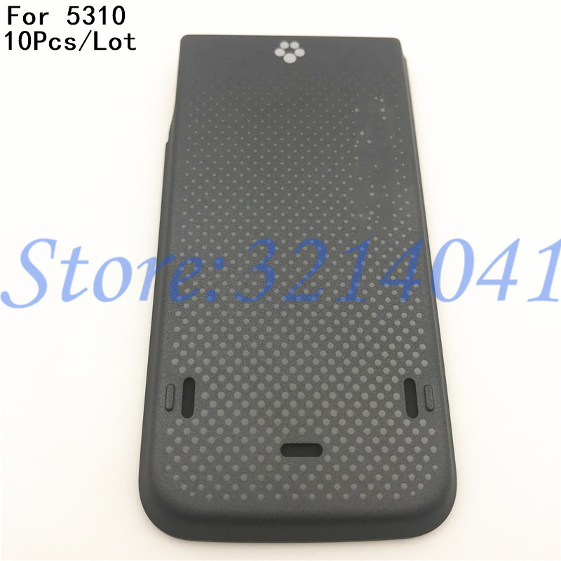 10Pcs/Lot Original Back Plastic Battery Cover For <font><b>Nokia</b></font> <font><b>5310</b></font> Battery Back Door Cover <font><b>Case</b></font> Housing With Logo image