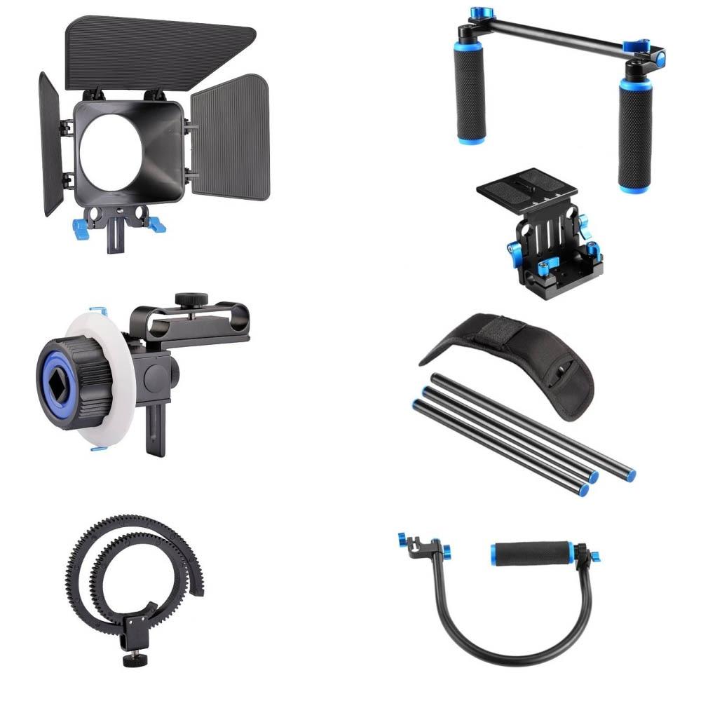 4in1 DSLR Rig Set Komplet për filmin e sistemit të - Kamera dhe foto - Foto 6