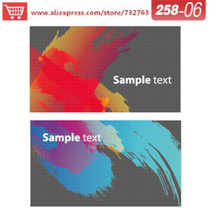 0258 06 business card template for name card design online design ...