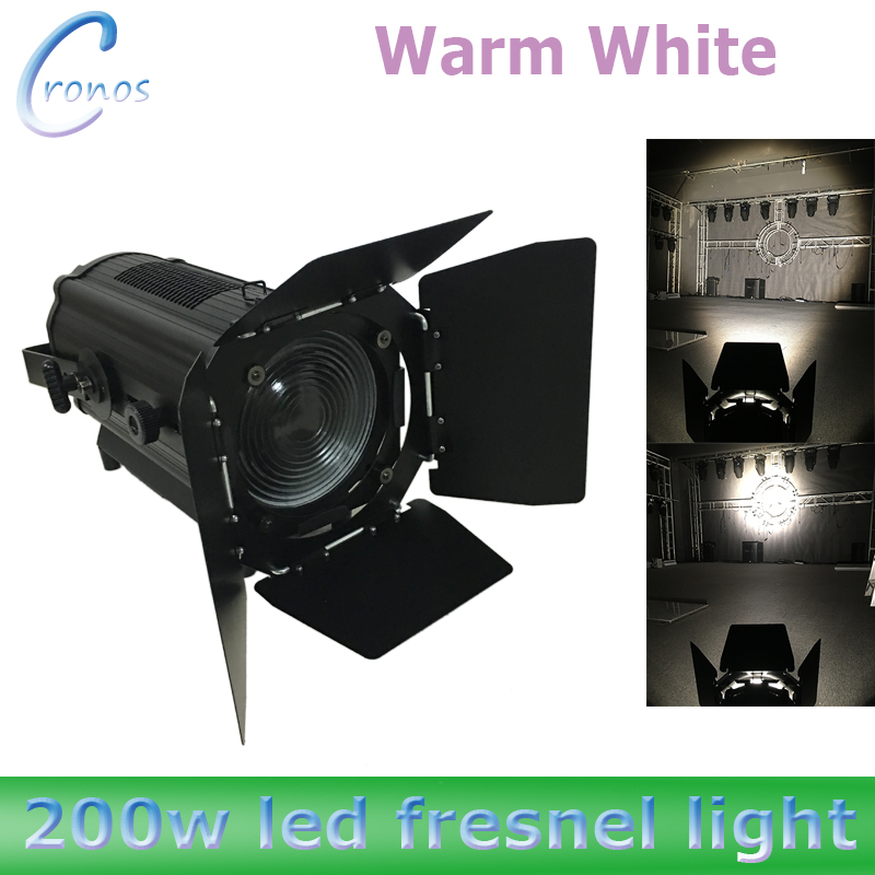 2pcs Lot DMX Led Fresnel Stage Light Warm White Or Cold 1 3CH 200w In Lighting Effect From Lights On Aliexpress