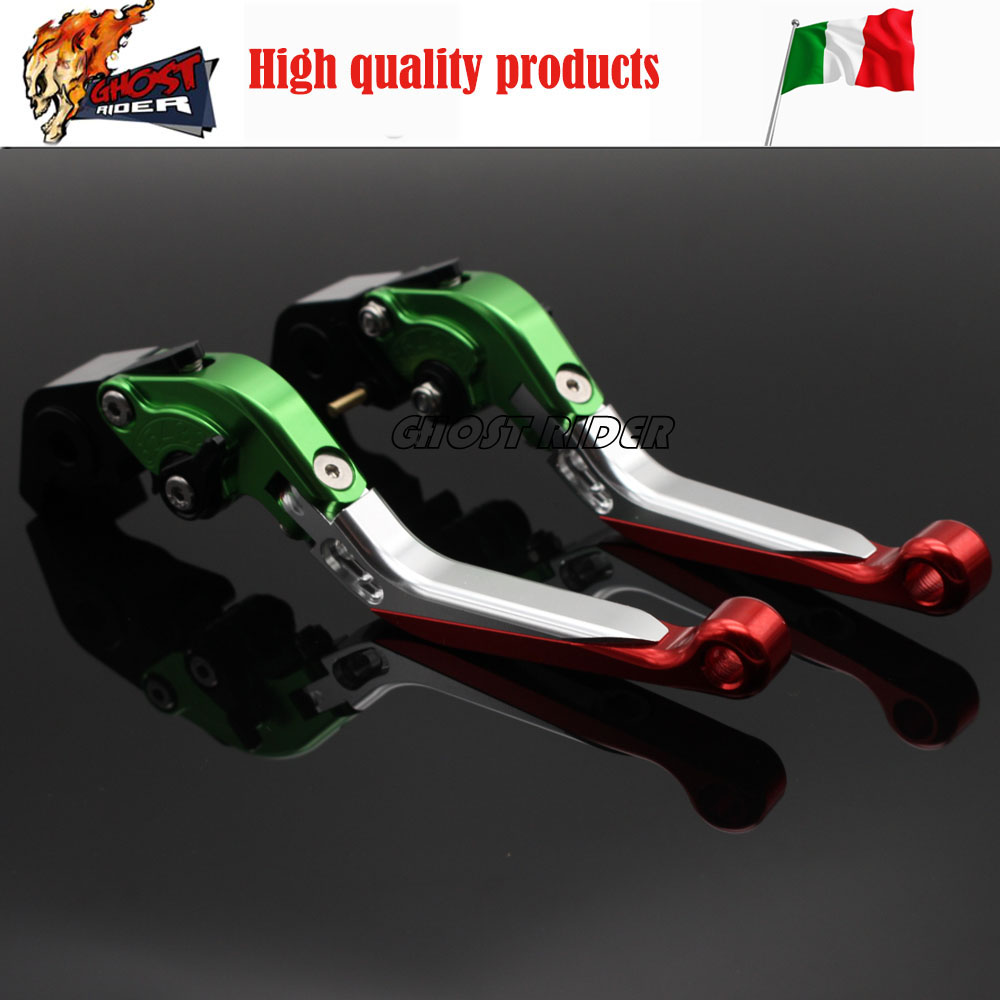 ФОТО fits for DUCATI MONSTER 400 695 620/MTS S/S2R 800 Motorcycle CNC Billet Aluminum Folding Extendable Brake Clutch Levers