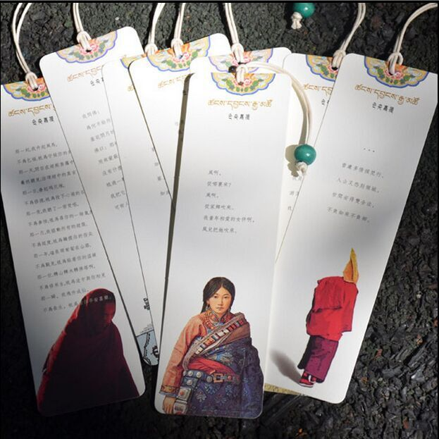 Freeshipping 5 sets Cangyangjiacuo bookmarks 8pieces / set of teachers and students send gifts Tibet classical style john clarke jewellery of tibet and the himalayas