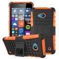 Lumia 640 kickstand híbrido Stand função à prova de choque capa TPU & PC Dropproof caixa do telefone para Microsoft Nokia Lumia 640
