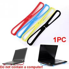 Простой портативный кронштейн для ноутбука с рассеиванием тепла X-type охлаждающая подставка для ноутбука охлаждающая подставка держатель для ноутбука для деловых поездок аксессуары для ноутбуков