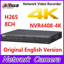 Dahua NVR4408-4K 8 Channel 1.5U 4K H.265 Network Video Recorder 1080P Support 4 SATA HDDs 3 USB and Multi-brand network cameras