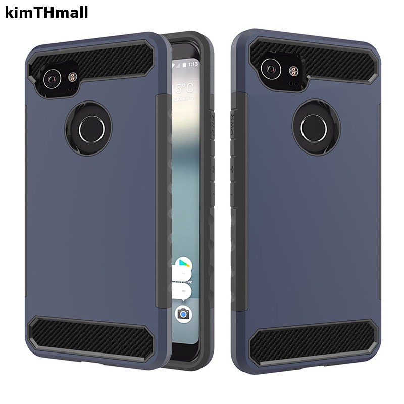 Case For Google Pixel 2 back cover fundas for Google Pixel 2 XL case 2 in 1 Armor full Protect TPU Soft phone case kimTHmall