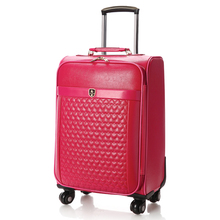 Suitcase trolley luggage travel bag female universal wheels luggage red married box bride of the box 16 18 20 22 24inch luggage