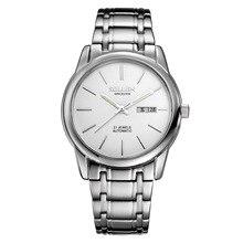 Мода Luxury Brand SOLLEN Мужские Часы Tourbillon Hollow Календарь Автоматические Механические Наручные Часы Для Мужчин С Оригинальной Подарочной Коробке