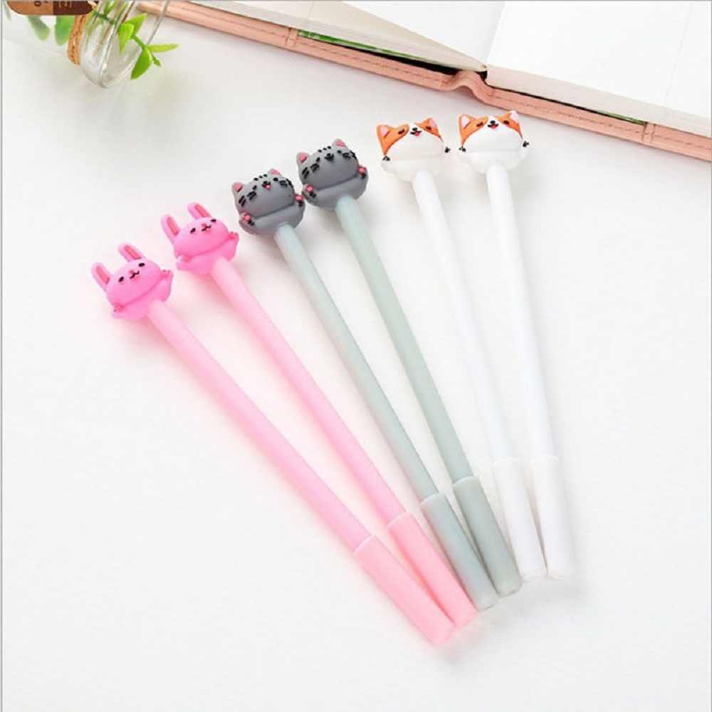 1pc DIY חמוד Kawaii מים צבע גיר צבע ג 'ל עט לילדים יומן קישוט רעיונות קוריאני מכתבים משרד סמן עט