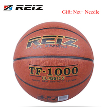 REIZ TF-1000 Official Size 6 Synthetic Leather Rubber Basketball Sports Practice Indoor Outdoor Ball Game Training dropshipping
