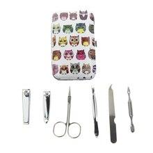 6Pcs/Set 6 Different Kinds Owl Best French Professional Manicure Pedicure Set For Men Women Girl Kid Child Gift