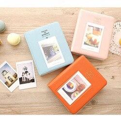 64 bolsos para fujifilm instax mini filmes instax mini 8 7s 70 25 50s 90 peças do cartão de nome do álbum de fotos do momento