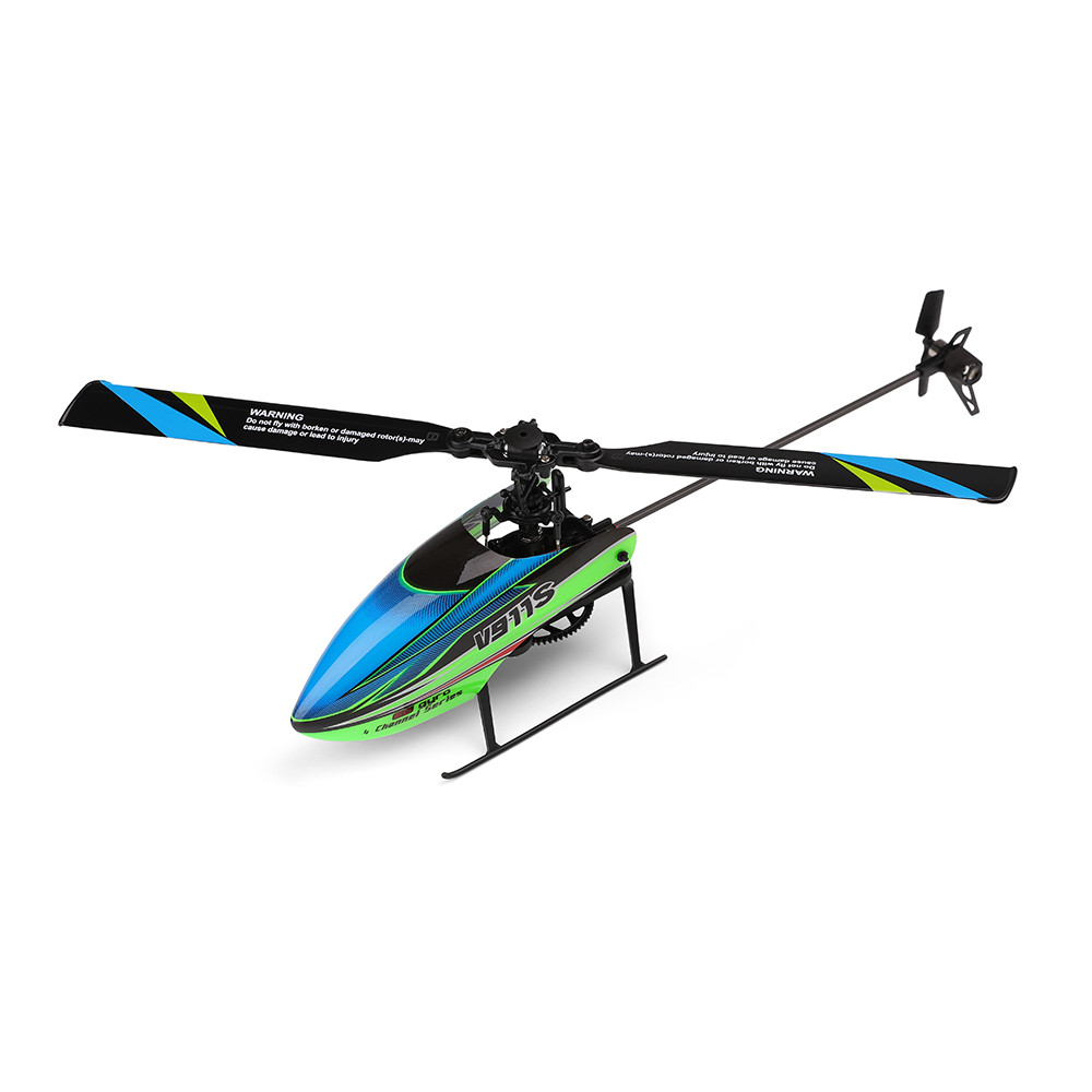 2019 New Year Gifts for kids New V911S 2.4G 4CH 6 Aixs Gyro Flybarless RC Helicopter RTF Mode 2