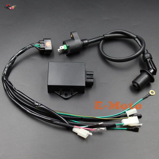 complete wire wiring harness loom ignition coil 8 pin cdi kits for rh aliexpress com 8 pin wiring harness connector 8 pin wiring harness connectors for bulkhead