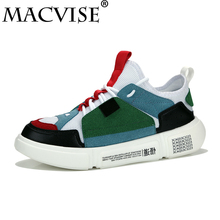Big Size 39-48 Men's Casual Flats Rubber Shoes Breathable Red Bottoms Shoelace Buty Meskie Vulcanized Shoes Zapatos De Hombre