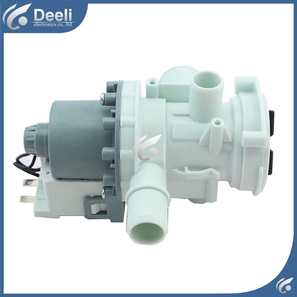 1pcs New Original for Midea Washing machine parts drain pump drain pump motor good working new for washing machine parts b30 6a drain pump motor 30w good working