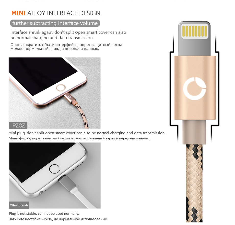 iphone charger length lighting cable fast charger adapter original usb cable for 11733