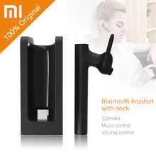 Authentic Xiaomi Bluetooth Headset Youth model 4.1 with Charging Seat Younger Headphones Earphone LYEJ02LM Construct-in Mic