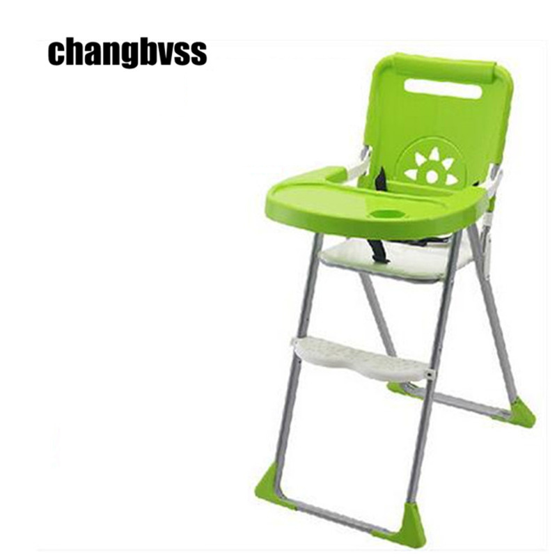 High Chairs Babies Mutifunctional baby high chair adjustable baby feeding chair folding dining