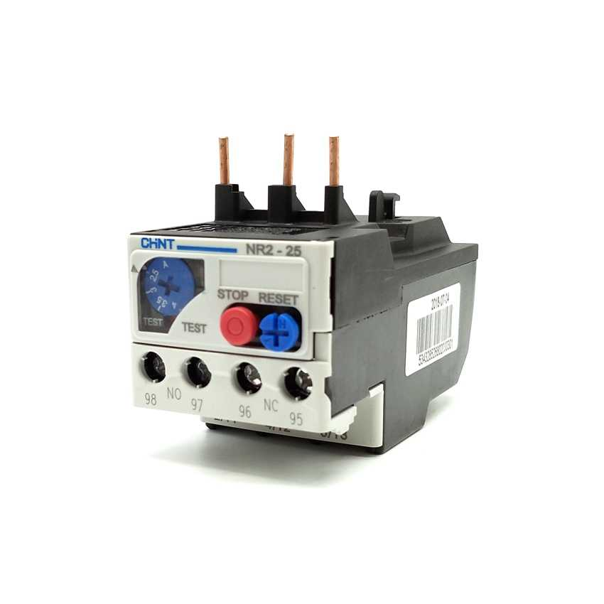 Zerone NR2-25 Electric Adjustable Motor Protection Thermal Overload Relay