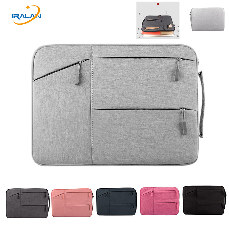 2017New Waterproof Laptop Bag Case For MacBook Pro 11 12 15 Air Bag For Xiaomi Notebook