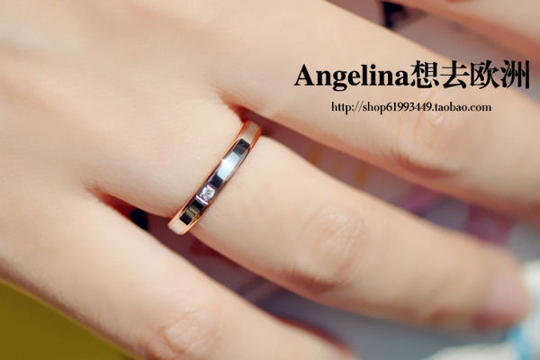 FREE SHIPPINGNew Jewelry Fashion Korean Style 18k Rose Gold Plated