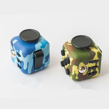 13 Types Fidget Cube Toy Anti Srtress Fidget Stress Relieve with Two Camouflage Types Funny Gifts Free Shipping