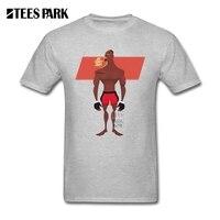 Mannen Tee Tops 2017 T-Shirt Jon Jones Botten MMA Mens Pre-Katoen Korte T Shirts Nieuwe Hoogwaardige Mannelijke T-shirt