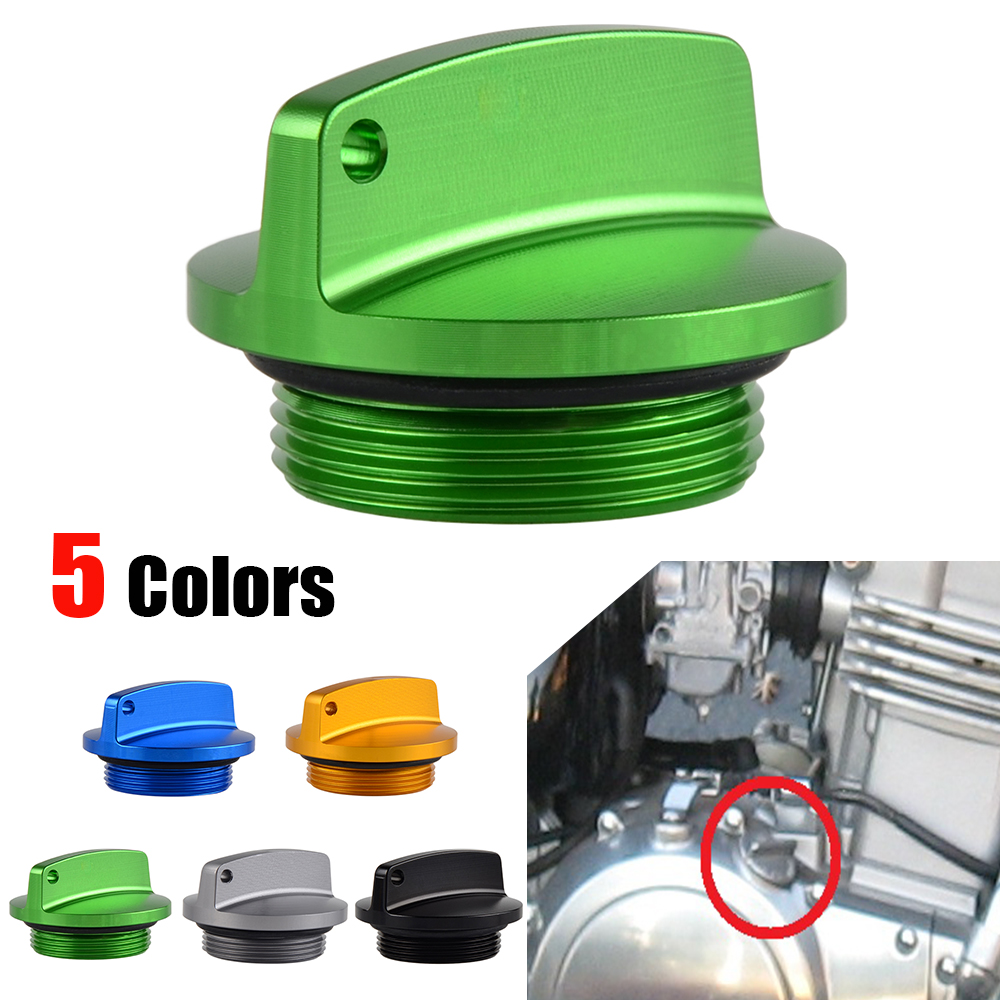 Us 849 Nicecnc Engine Oil Filter Cap Plug For Kawasaki Zx6r Zx9r Zx10r Zx12r Zx14r Z250 Z750 Z1000 Ninja 250 300 Zzr Zrx 250 1200 1400 In Covers