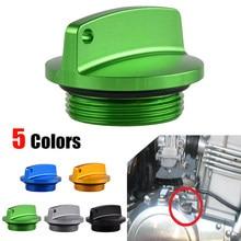 Nicecnc tampa para filtro de óleo, plugue de filtro de óleo para kawasaki zx6r pro zx10r zx12r zx14r z250 z750 z1000 ninja 250 300 zzr zrx 250 1200 1400