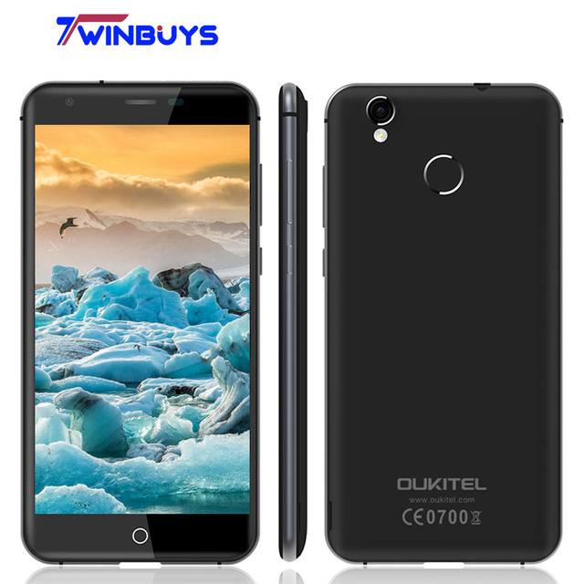 Newest Original OUKITEL K7000 4G LTE Mobile Phone Android 6.0 MT6737 Quad Core 2GB RAM16GB ROM HD 5.0 inch 2000mAh 5MP