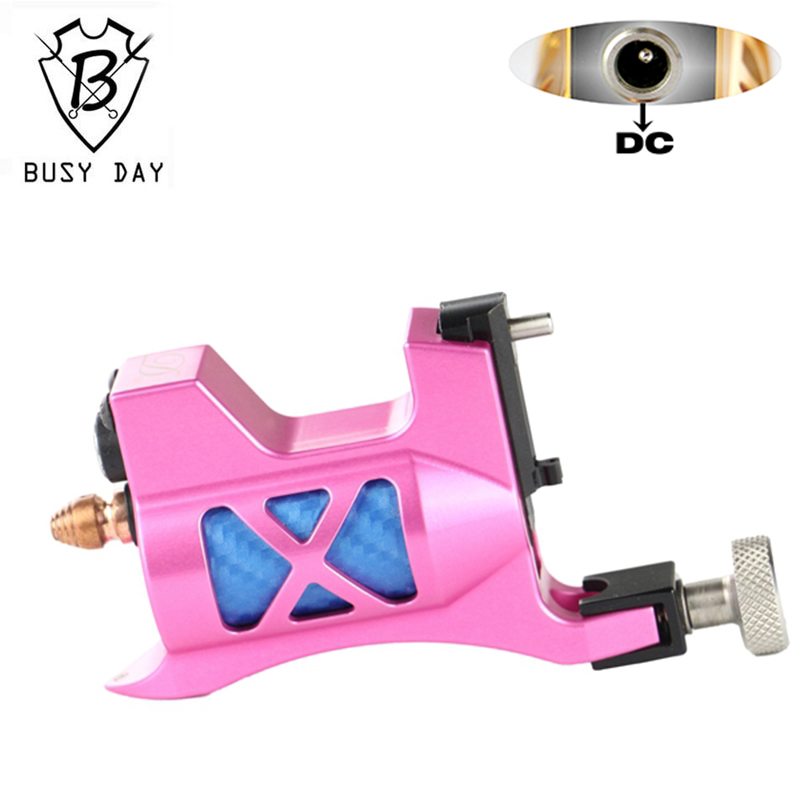 2016 Real New Microblading Pen Rotary Tattoo Machine Tattoo Artist Professional Machine Motor Imported Pink For Free Shipping 35000r import permanent makeup machine best tattoo makeup eyebrow lips machine pen