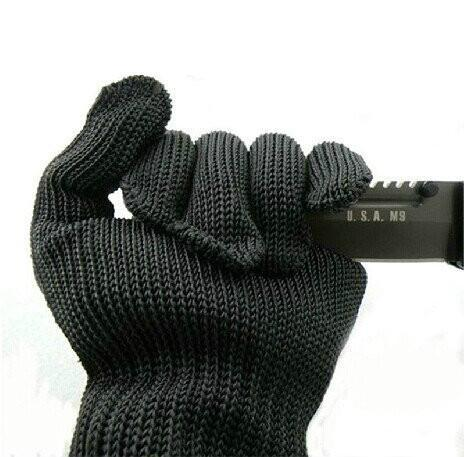 1 pc Anti-cut Anti-slip Outdoor Hunting Fishing Gloves Cut Resistant Protective Knife Anti-cutting Hand Protection Mesh Gloves