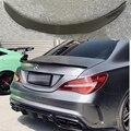 Für Mercedes CLA W117 AMG Carbon Spoiler FD Stil CLA Klasse C117 Carbon Fiber Heckspoiler mit rote linie Hinten stamm Flügel 2013 UP-in Spoiler & Flügel aus Kraftfahrzeuge und Motorräder bei
