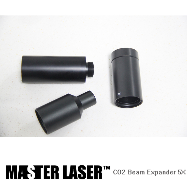 5 Times CO2 Galvo  System Beam Expander for Laser Marking Machine Laser Expander