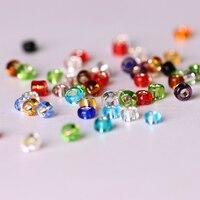 1000 TEILE/LOS Tschechische Glassamen Sapcer Perlen 2mm Kristall Kleine Lose Perlen Für Beadwork Handwerk Material Machen Schmuck Großhandel