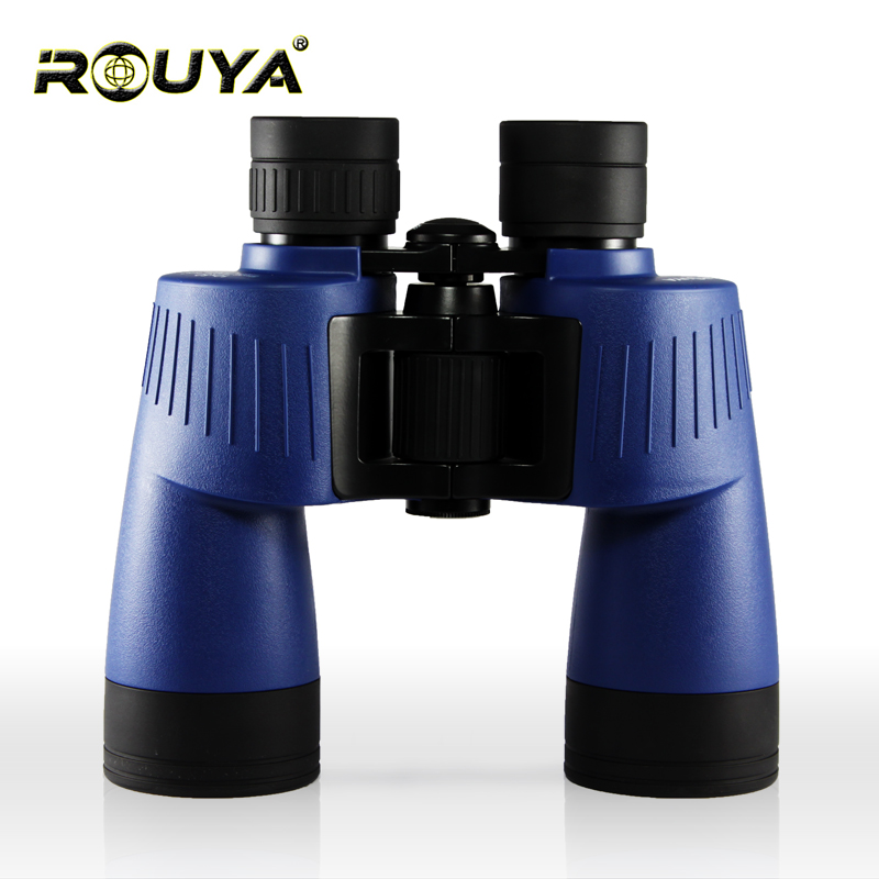 Rouya binoculars 10X50 big objective diameter professional hd binocular powerful Germany Military telescope lll night vision binoculars 10x50 professional telescope tactical powerful binocular germany military lll night vision hd bak4 scope for hunting