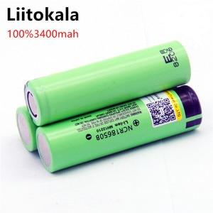 Image 3 - Liitokala 18650 3400新しいオリジナルNCR18650 3400充電式リチウムイオンバッテリー/パワーバンク/懐中電灯