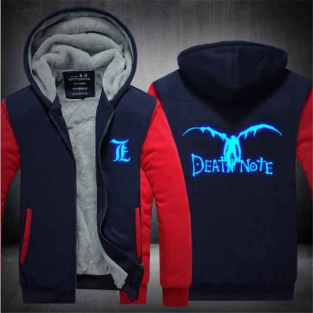 Аниме толстовка Тетрадь Смерти Death Note в ассортименте 4
