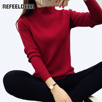 2016 Autumn Winter Women Long Sleeve Knitted Jumper Women Sweaters And Pullovers Female Pull Femme