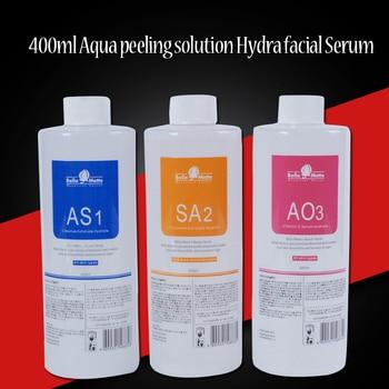 Hot sale !! Facial Serum Hydra Facial Serum For Normal Skin AS1 SA2 AO3 Aqua Peeling Solution 400ml Per Bottle