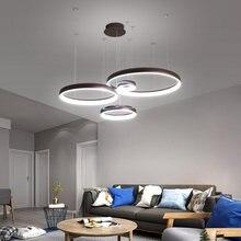 Circel современные светодиодные подвесные светильники для гостиной