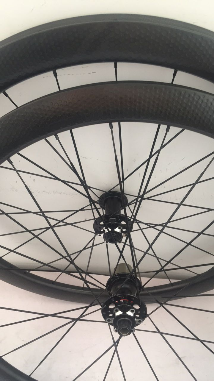 2019 style dimples carbon font b bike b font wheels 45mm tubular 25mm disc road wheels