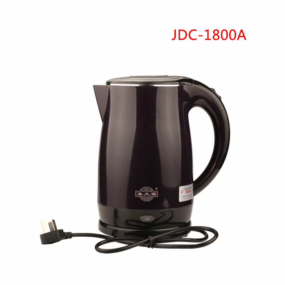 JDC-1800A 1.8L  1500W Electric Water Kettle Quick Heat  Water Heating Kettle Auto power off Electric kettle teapot boilerJDC-1800A 1.8L  1500W Electric Water Kettle Quick Heat  Water Heating Kettle Auto power off Electric kettle teapot boiler