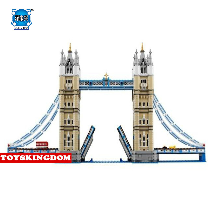 NEW Creators World Famous Architectures Tower Bridge London England UK Collection Lepins Building Block Model Bus Car Bricks Toy 2017 world famous architecture statue of liberty new york america usa united states mini diamond building block nanoblock model