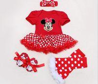 Girl Clothing Sets Children S Christmas Clothes Leopard Romper Lace Tutu Romper Dress Jumpersuit Headband Shoes