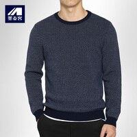 Mmaicco 남성 울 스웨터 겨울 두꺼운 캐시미어 스웨터 남성 오 인쇄 따뜻한 코트 남성 캐주얼 최고 품질의 블라우스 크기 M-3XL