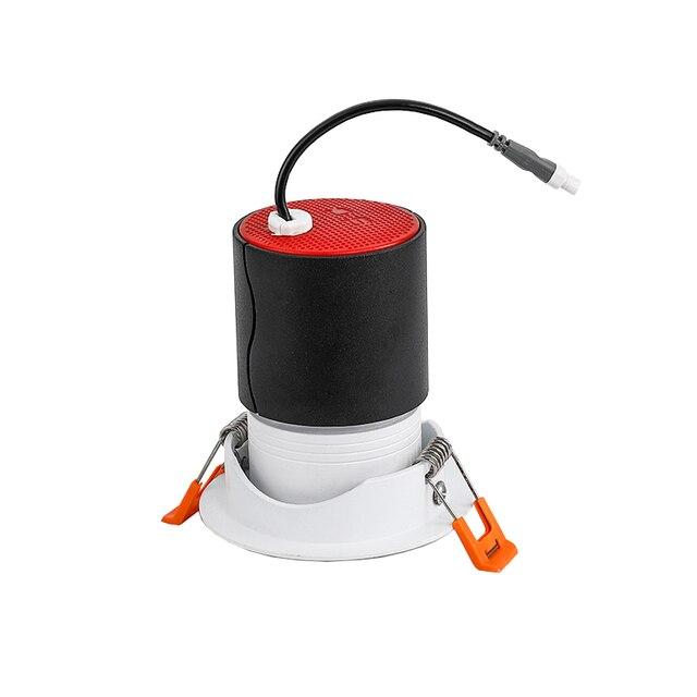 Scon Led 7W 12W Verzonken Plafond Spotlight Cob Ra>93 Hotel Muur Wassen Lamp 24 Graden Commerciële indoor Downlight 4000 K