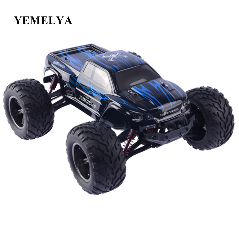 RC Car 9115 2.4G 1:12 Scale Car Supersonic Monster Truck RTR Off-Road Vehicle Buggy Electronic Toy 2WD Brushed Remote Control hsp bajer 5b 1 5th 2wd rtr 26cc engine gasoline off road buggy 94054